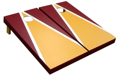 Triangle Design Cornhole Boards